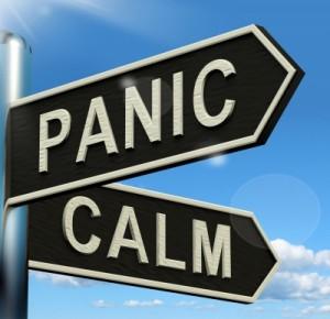 panic calm