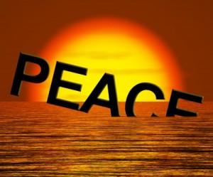 peace sinking