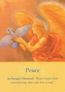 Peace Archangel Oracle Cards (Doreen Virtue PhD)